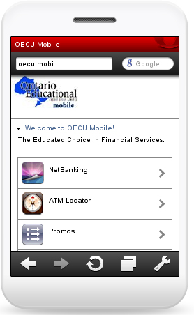 OECU Mobile...is here!